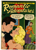 Golden Age (1938-1955):Romance, Romantic Adventures #1 Cookeville pedigree (ACG, 1949) Condition:VG+....