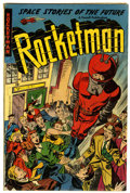 Golden Age (1938-1955):Science Fiction, Rocketman #1 (Farrell, 1952) Condition: VG....