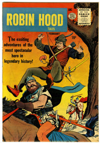 Robin Hood Tales #1 Circle 8 pedigree (Quality, 1956) Condition: VF