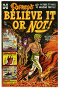 Golden Age (1938-1955):Non-Fiction, Ripley's Believe It or Not! #1 File Copy (Harvey, 1953) Condition:NM-....