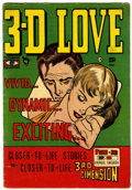 Golden Age (1938-1955):Romance, 3-D Love #1 (Steriographic Publications, 1953) Condition: VG/FN....