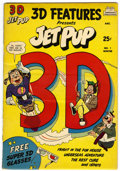 Golden Age (1938-1955):Funny Animal, 3-D Features Presents Jet Pup #1 (Dimensions Publications, 1953)Condition: FN....