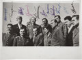 Explorers:Space Exploration, Group Photograph of the First Eleven Russian Cosmonauts, Signed....