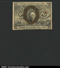 Fractional Currency:Second Issue, Second Issue 10c, Fr-1245, XF. There is a small stain and a pap...