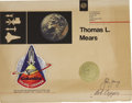 Explorers:Space Exploration, Flown Columbia Space Shuttle Patch and Certificate....