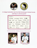 "Explorers:Space Exploration, Neil Armstrong Autograph Letter Signed ""Neil"".... (Total: 2Items)"