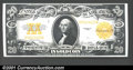 Large Size:Gold Certificates, 1922 $20 Gold Certificate, Fr-1187, Choice AU. A bright $20 gol...