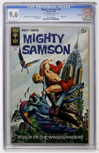 Mighty Samson #18 File Copy (Gold Key, 1969) CGC NM+ 9.6 Off-white pages
