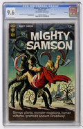 Silver Age (1956-1969):Adventure, Mighty Samson #11 File Copy (Gold Key, 1967) CGC NM+ 9.6 Off-white to white pages....