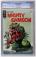 Silver Age (1956-1969):Adventure, Mighty Samson #8 File Copy (Gold Key, 1966) CGC NM+ 9.6 Off-white pages....