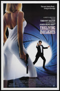 """Movie Posters:James Bond, The Living Daylights (United Artists, 1987). One Sheet (27"""" X 41""""). James Bond Action. Starring Timothy Dalton, Maryam d'Abo..."""