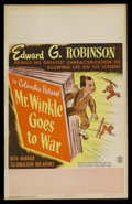 """Movie Posters:Comedy, Mr. Winkle Goes to War (Columbia, 1944). Window Card (14"""" X 22""""). Comedy. Starring Edward G. Robinson, Ruth Warrick, Ted Don..."""
