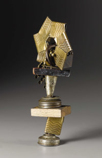 IVAN KLIUN (Russian 1870-1942) Untitled Found object sculpture, mixed media 7 inches, high (17.8 cm) WITHDRAWN