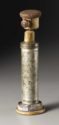 IVAN KLIUN (Russian 1870-1942) Untitled Found object sculpture, mixed media 6-1/2 inches, high (16.5 cm) WITHDRAWN