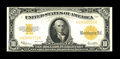 Large Size:Gold Certificates, Fr. 1173 $10 1922 Gold Certificate Choice About New. Good original surfaces and perfect color make this Gold Ten a desirable...