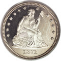 Proof Seated Quarters: , 1871 25C PR64 Deep Cameo PCGS. Briggs 1-A. Writing in 1991, LarryBriggs (The Comprehensive Encyclopedia of United States...