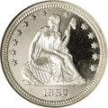 Proof Seated Quarters: , 1882 25C PR67 ★ Ultra Cameo NGC. This is an amazing proof withincredible eye appeal created ...