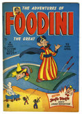 "Golden Age (1938-1955):Humor, Foodini #2 Davis Crippen (""D"" Copy) pedigree (Continental, 1950) Condition: VF...."