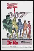 """Movie Posters:James Bond, Dr. No (United Artists, R-1980). One Sheet (27"""" X 41""""). James BondAction. Starring Sean Connery, Ursula Andress, Joseph Wis..."""