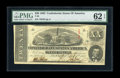 Confederate Notes:1863 Issues, T58 $20 1863. Cr-426 PF-17. This 2nd Series note would havebenefited from a touch wider margin at upper left. Original surf...