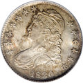 Bust Half Dollars: , 1830 50C Small 0 MS65 PCGS. O-101, R.1. Identifiable by clearrecutting on the left side of the A in STATES, and a thin die...