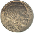 Errors: , 1936 5C Buffalo Nickel--Struck on a Nicaragua Cent Planchet--AU55PCGS. As the U.S. Mint grew in prominence, it took on coi...