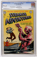 Golden Age (1938-1955):Science Fiction, Strange Adventures #21 (DC, 1952) CGC NM- 9.2 Cream to off-whitepages....