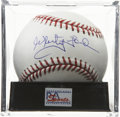 Autographs:Baseballs, Whitey Ford Single Signed Baseball, PSA Mint+ 9.5. The great ace ofthe New York Yankees here provides a high-quality single...