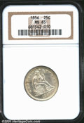 Seated Quarters: , 1856 25C