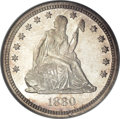 Seated Quarters, 1880 25C MS66 NGC....