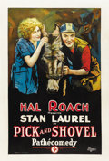 """Movie Posters:Comedy, Pick and Shovel (Pathé, 1923). One Sheet (27"""" X 41"""")...."""