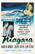 "Movie Posters:Film Noir, Niagara (20th Century Fox, 1953). One Sheet (27"" X 41"")...."