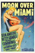 "Movie Posters:Musical, Moon Over Miami (20th Century Fox, 1941). One Sheet (27"" X 41"") Style B...."