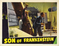 "Movie Posters:Horror, Son of Frankenstein (Universal, 1939). Lobby Card (11"" X 14"")...."