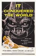 "Movie Posters:Science Fiction, It Conquered the World (American International, 1956). One Sheet(27"" X 41"")...."