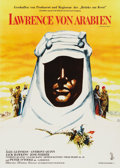 "Movie Posters:Academy Award Winner, Lawrence of Arabia (Columbia, 1962). German A1 (23"" X 33"")...."