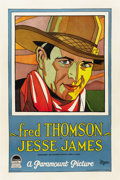 "Movie Posters:Western, Jesse James (Paramount, 1927). One Sheet (27"" X 41"") Style A...."