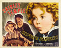 "Movie Posters:Drama, Captain January (20th Century Fox, 1936). Half Sheet (22"" X 28"")Style B...."