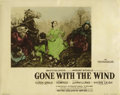 "Movie Posters:Academy Award Winner, Gone with the Wind (MGM, 1939). Color-Glos Lobby Cards (2) (11"" X14"").... (Total: 2 Items)"