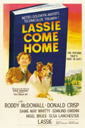 "Movie Posters:Adventure, Lassie Come Home (MGM, 1943). One Sheet (27"" X 41"")...."