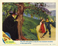 "Movie Posters:Musical, The Wizard of Oz (MGM, R-1949). Lobby Card (11"" X 14"")...."