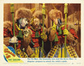 "Movie Posters:Musical, The Wizard of Oz (MGM, R-1949). Lobby Cards (2) (11"" X 14"")....(Total: 2 Items)"