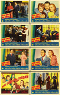 "Movie Posters:Fantasy, Here Comes Mr. Jordan (Columbia, 1941). Lobby Card Set of 8 (11"" X14"").... (Total: 8 Items)"