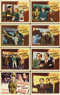 "Movie Posters:Crime, Brother Orchid (Warner Brothers, 1940). Lobby Card Set of 8 (11"" X14"").... (Total: 8 Items)"