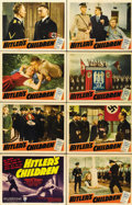 "Movie Posters:War, Hitler's Children (RKO, 1943). Lobby Card Set of 8 (11"" X 14"")....(Total: 8 Items)"