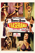 "Movie Posters:Sexploitation, Teaserama (Beautiful Productions Inc., 1955). One Sheet (27"" X41"")...."