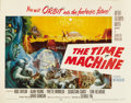 "Movie Posters:Science Fiction, The Time Machine (MGM, 1960). Half Sheet (22"" X 28"") Style B...."