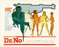 "Movie Posters:James Bond, Dr. No (United Artists, 1962). Half Sheet (22"" X 28"")...."