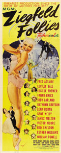"Movie Posters:Musical, Ziegfeld Follies (MGM, 1946). Insert (14"" X 36"")...."