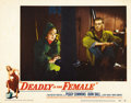 "Movie Posters:Film Noir, Deadly Is The Female (United Artists, 1949). Lobby Cards (4) (11"" X14"").... (Total: 4 Items)"